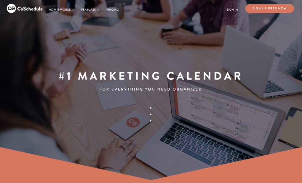 CoSchedule social sharing